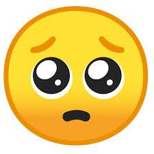 🥺 bettelndes Gesicht-Emoji